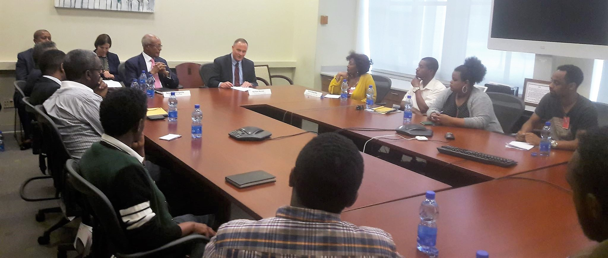 Remarks by Ambassador Michael Raynor at a round table