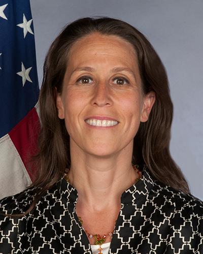 Photo of Chargé d'Affaires Jessye Lapenn