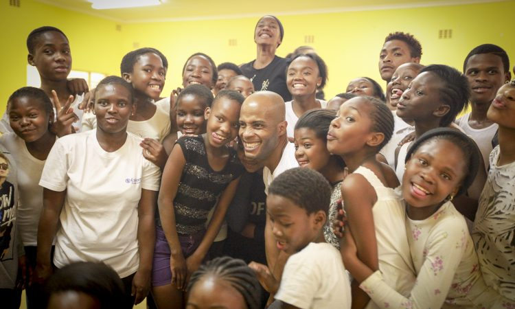 Alvin Ailey with Kids from Dance Academy