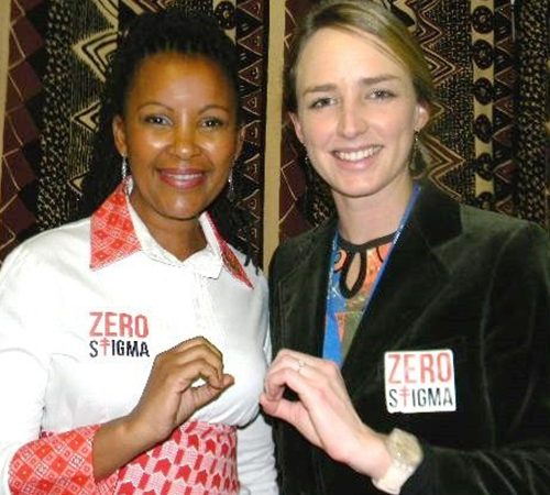 Dr. Dalene Von Delft and TV Personality Gerry Elsdon have both survived TB and have now dedicated themselves to educating others about the disease