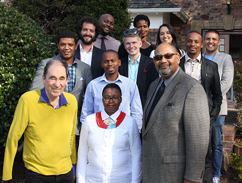 Photo Justice Sachs and YALI fellows