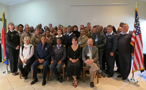 Picture of SADF participants