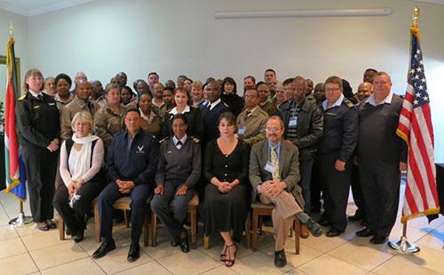 Picture of SADF participants