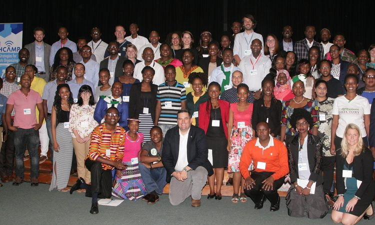 A group photo of the participants at Tech Camp