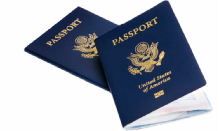 Stock Image: Passport