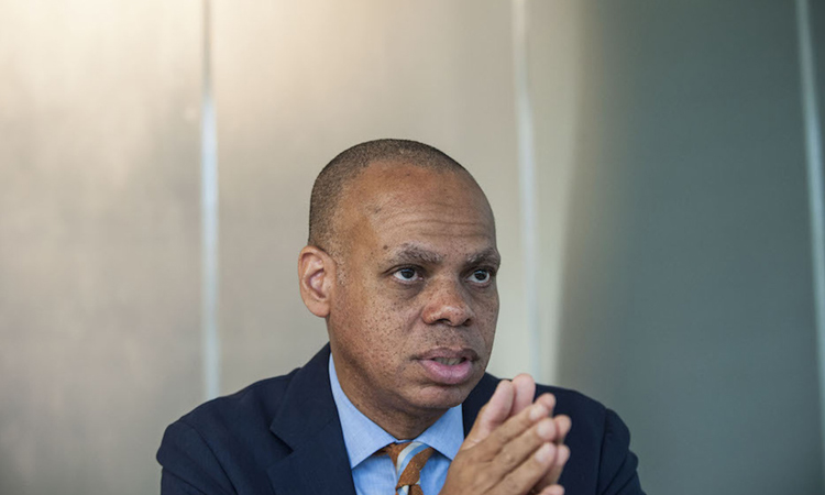 S Ambassador to South Africa Patrick Gaspard. (David Harrison)