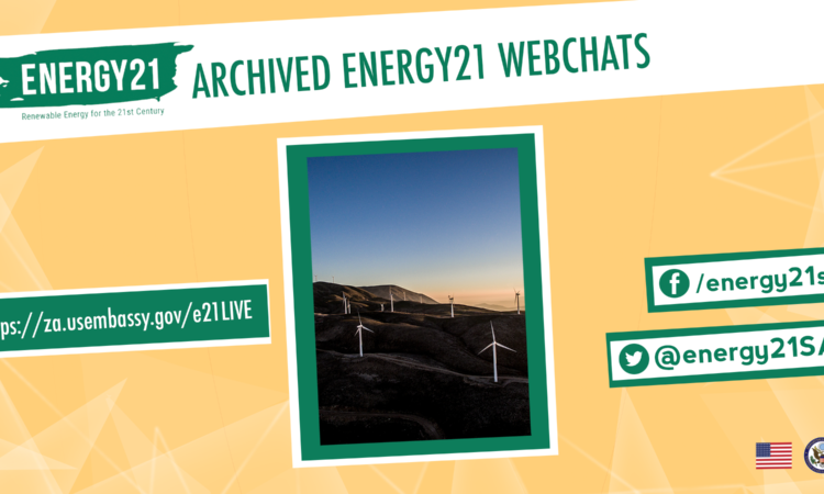 Energy21 Archived Webchat Green and Yellow