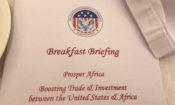 AmCham Prosper Africa Briefing