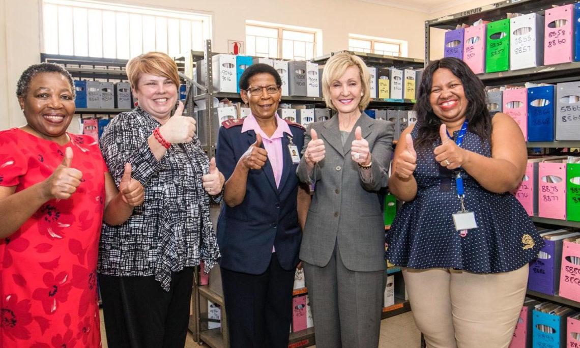 Ambassadaor-Designate Marks tours the Laudium Community Health Centre