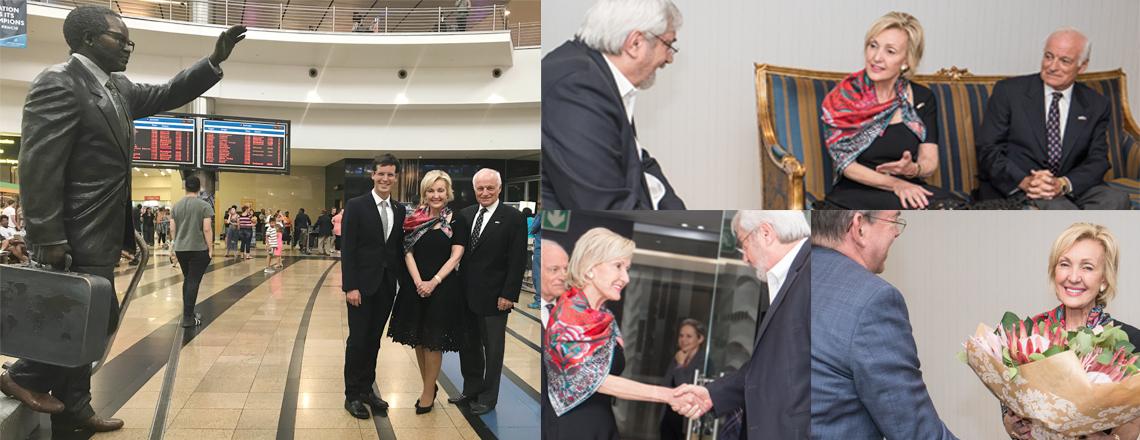 Ambassador-designate Lana Marks Arrives in South Africa