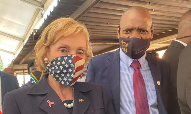 Ambassador Marks and Minister Mkize
