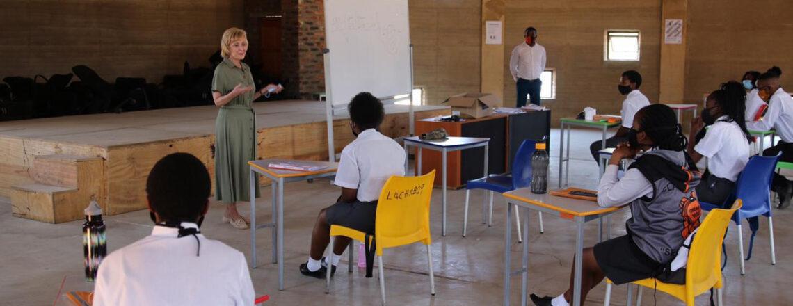 Ambassador Marks Visits Diepsloot Community, Announces Grant to LEAP School 4