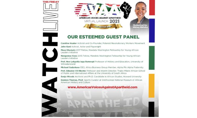 America's Voices Against Apartheid