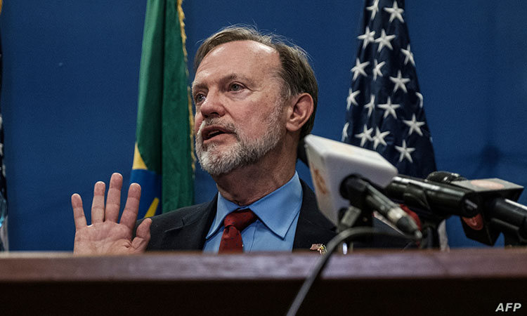 Comments Africa Venezuela an Issue Between Allies US and South Africa By Anita Powell March 12, 2019 11:04 AM FILE - Assistant Secretary of State for African Affairs Tibor Nagy speaks during a press conference at the US Embassy in Addis Ababa, on November 30, 2018. FILE - Assistant Secretary of State for African Affairs Tibor Nagy speaks during a press conference at the US Embassy in Addis Ababa