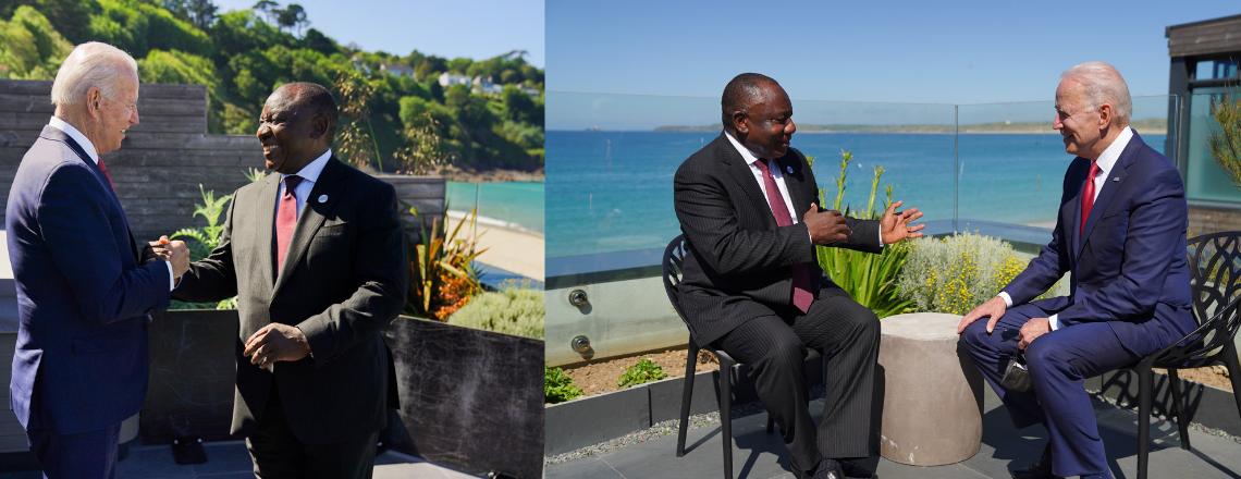 President Biden's Meeting with President Cyril Ramaphosa