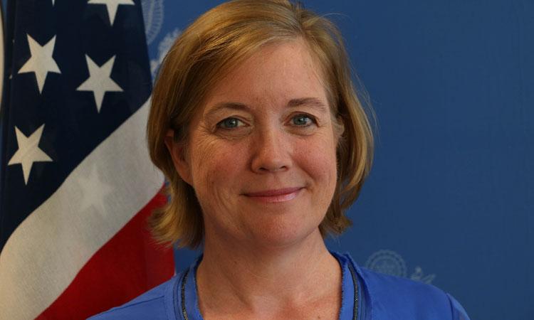 Consul General Virginia Blaser