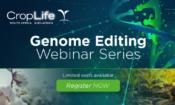 Genome Editing Webinar Series