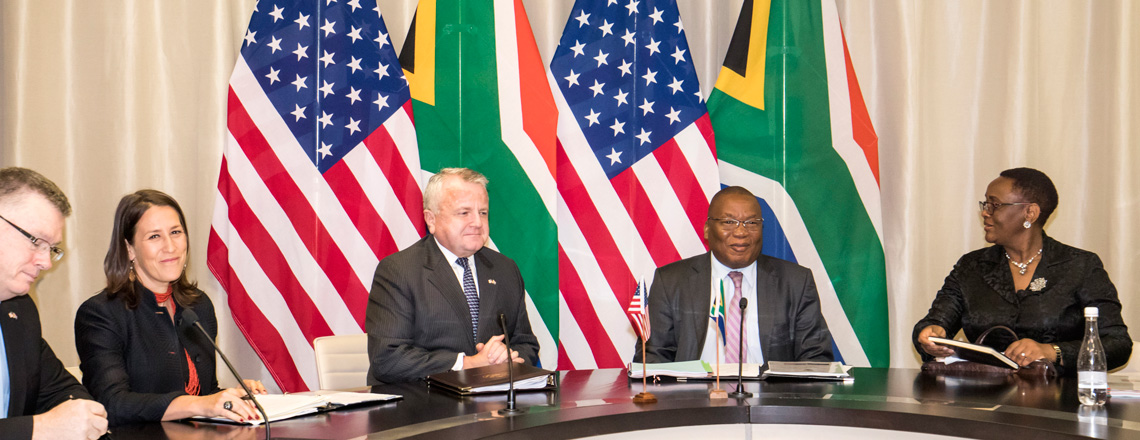 Deputy Secretary Sullivan Travels to South Africa
