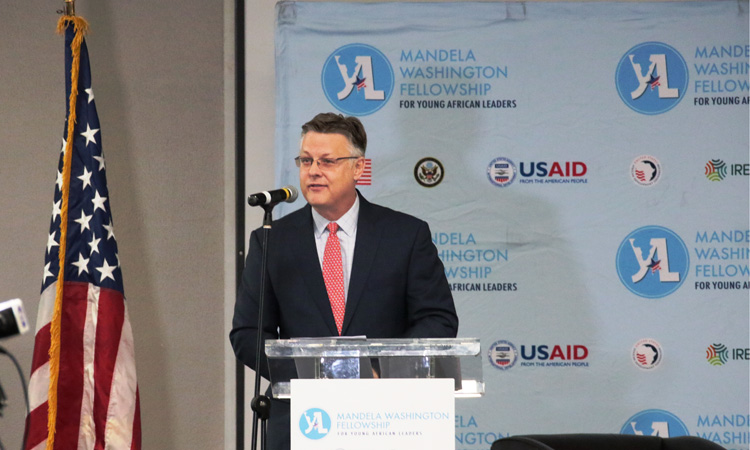 U.S. Ambassador Matthew T. Harrington, Acting Deputy Assistant Secretary of State, Bureau of African Affairs delivers remarks at the Conference