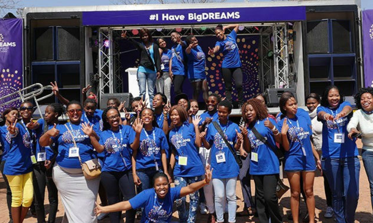 PEPFAR is planning a significant expansion of DREAMS in the coming year. We expect funding to nearly triple to approximately R1.6 billion, thus giving more young women the tools they need to succeed and make actionable change in their communities.