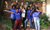 Ambassador Birx with South African DREAMS Ambassadors. DREAMS stands for Determined, Resilient, Empowered, AIDS-free, Mentored, and Safe