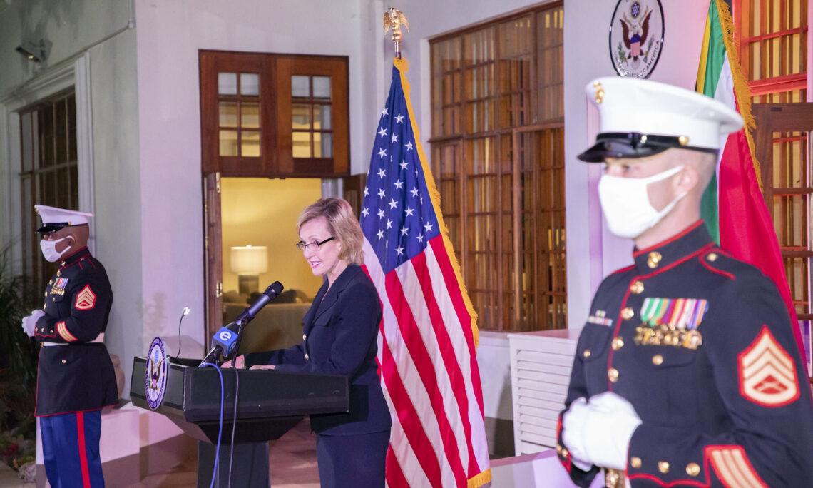 Ambassador Lana Marks delivers Independence Day remarks