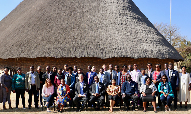 The workshop was organized by the U.S. Department of Agriculture's Animal and Plant Health Inspection Service (APHIS) with funding from the Defense Threat Reduction Agency (DTRA), and delivered in partnership with the World Organization for Animal Health, the Agriculture Research Council Onderstepoort Veterinary Research (ARC-OVR), and South African animal health experts.
