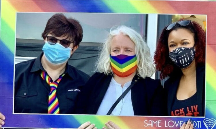 To close out Pride Month, Consul General Anne Linnee and Public Affairs Office for U.S. Consulate Durban Jaclyn Cole were delighted to join a family-friendly LGBTQIA+ event during Durban Pride weekend sponsored by Same Love Toti.