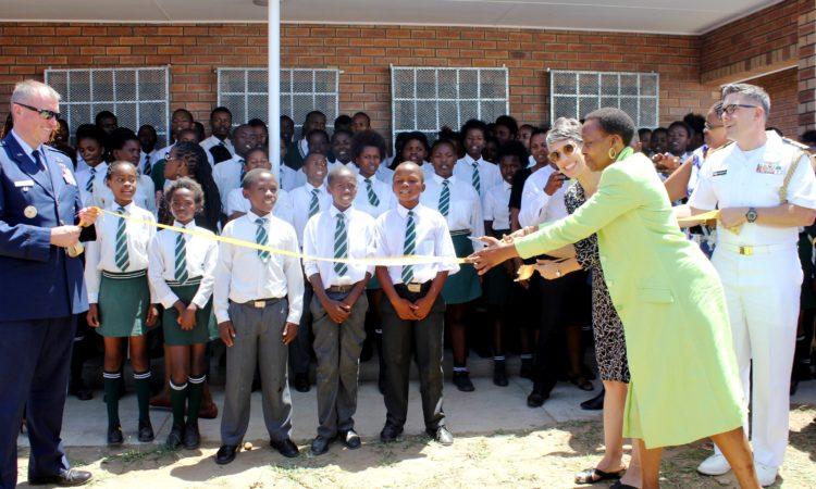 Ribbon Cutting Ceremony at Mzamowethu Combined School