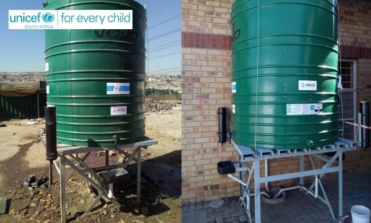 To help slow the spread of COVID-19, the United States government has contributed $500,000 (R 8.6 million) to UNICEF to construct handwashing stations in vulnerable communities and informal settlements across South Africa.