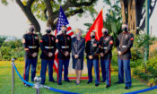 Commemorating the 245th birthday of the U.S. Marine Corps