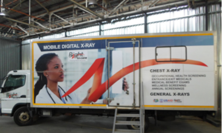 : USAID, through Right to Care, included the supply of a mobile x-ray unit, as well as the provision of emergency oxygen, to support a field hospital in the Eastern Cape.