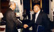 Nelson Mandela and John Lewis