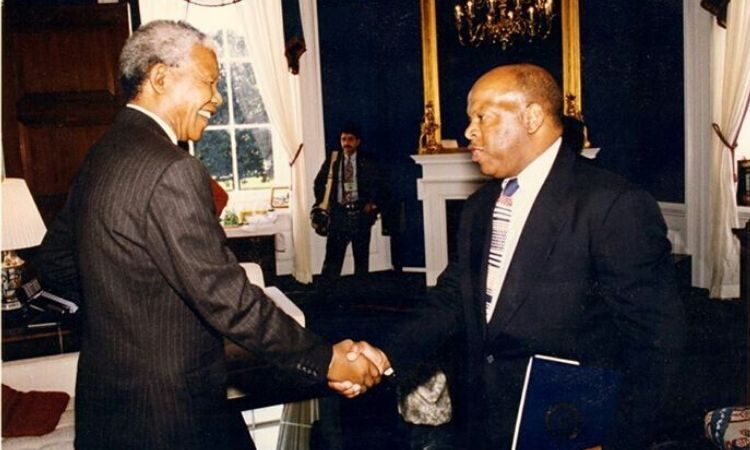 Nelson Mandela and John Lewis