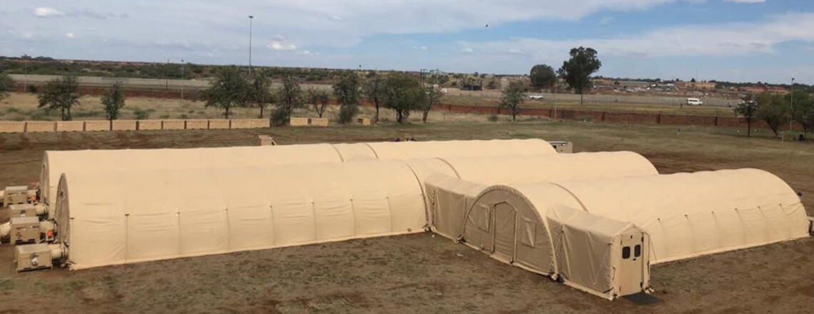 U.S. Embassy Delivers Field Hospital to Fight COVID-19 in the North West