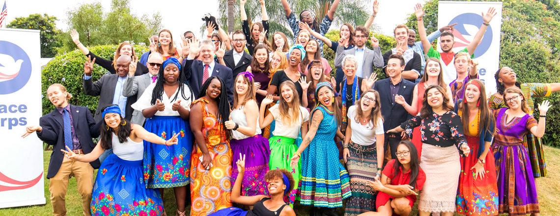 34 Incredible U.S. Peace Corps Volunteers In SA Sworn In