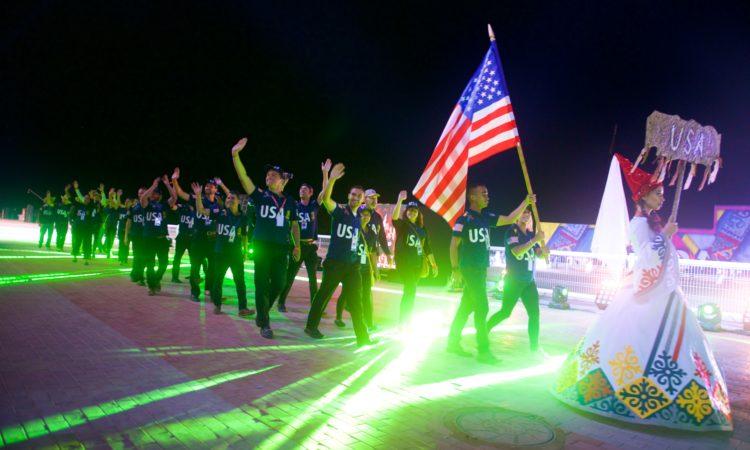 Открытие вторых всемирных игр кочевников 2016