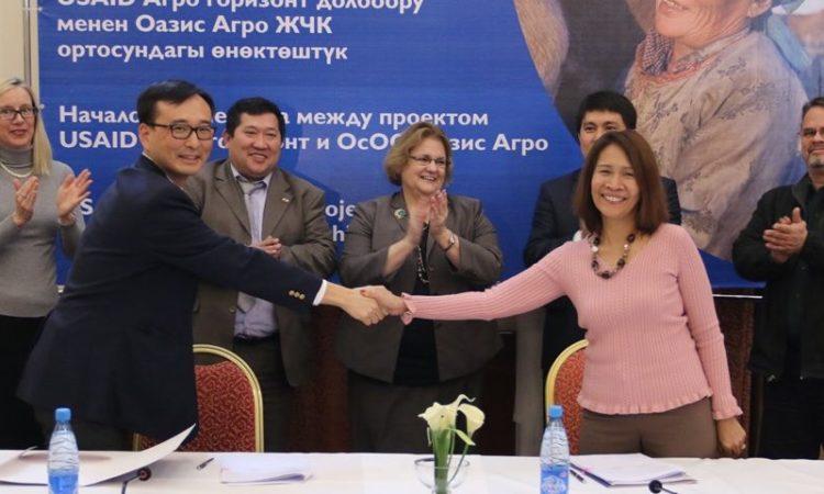 Новое партнерство обеспечит рост молочного производства на юге Кыргызстана