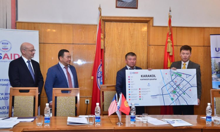 Новые туристические указатели и карты улучшат туризм в Иссык-Кульской области