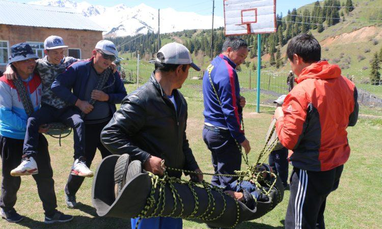 Photo of USAID trekking training participants