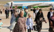 First Tashkent–Tamchy Flight
