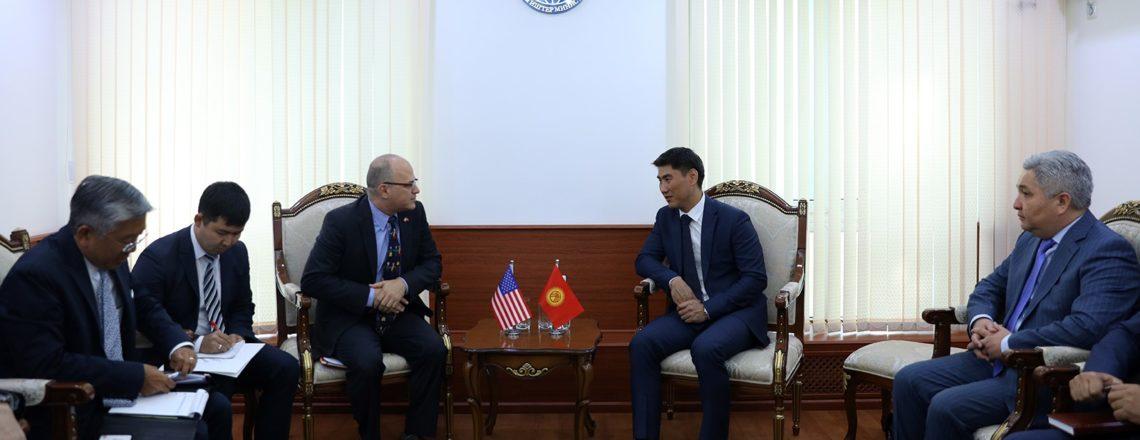 Успешные ежегодные двусторонние кыргызско-американские консультации
