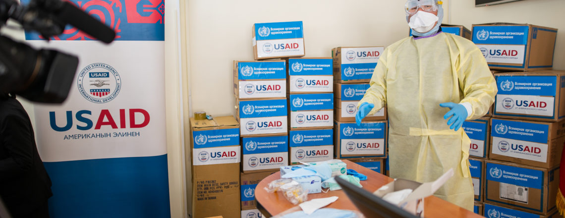 U.S. Donates Equipment to the Kyrgyz Republic in Response to Coronavirus Outbreak