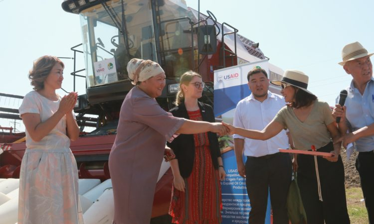 USAID Supports Soybean Production With Machinery Contribution 2