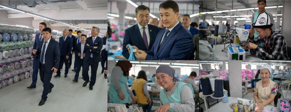 При содействии USAID в Чуйской области появилась крупная современная швейная фабрика