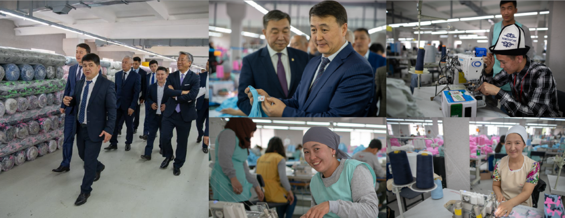 Vice Prime Minister and U.S. Ambassador Visit USAID-Supported Modern Apparel Factory