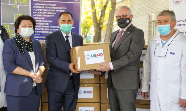 U.S. Donates Personal Protective Equipment to Bishkek Hospitals