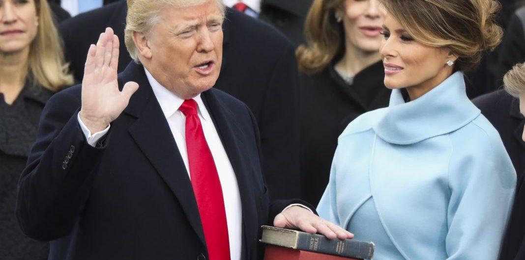 Inauguration Trump Family President Donald Trump Sworn in PHOTO Oath of Office