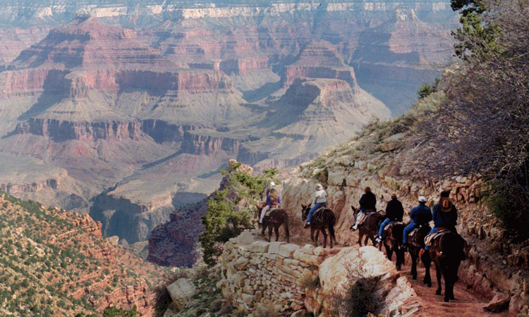 Grand Canyon National Park in Arizona (© AP Images)
