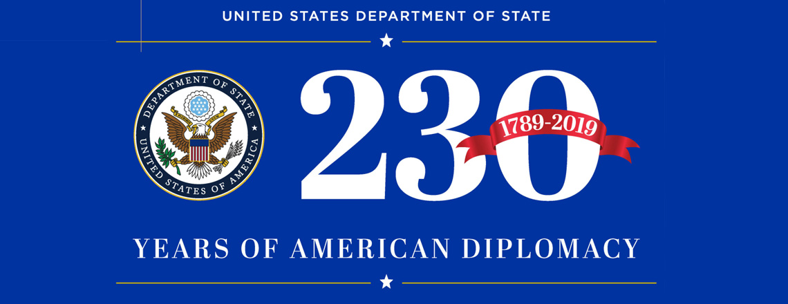 U.S. State Department Celebrates 230 years